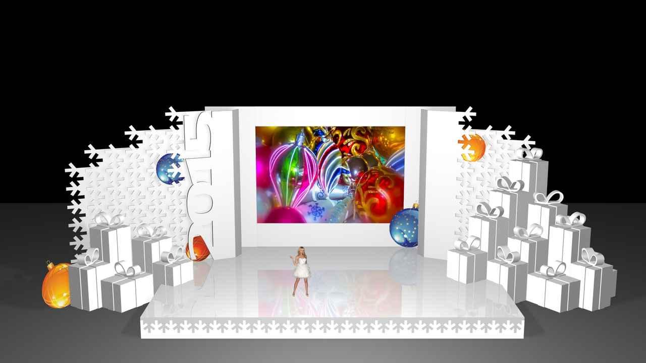 """Фото - Допремьерная презентация Новогодней """"Территории Эмоций"""" от Didzher Effects"""