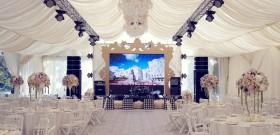 Фото - Оформление шатра на свадьбу от Didzher Effects