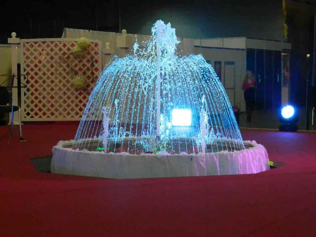 Водные эффекты и проекционные экраны