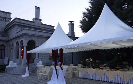 Фото - Шатер «Пагода» аренда от Didzher Effects